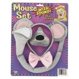 Mouse Ear Nose and Tail Set with Sound!