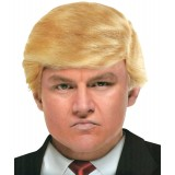 Billionaire Donald Trump Wig Adult