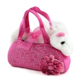 Pony in Pink Bag Plush Toy