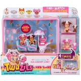 Twozies Series 1 Twogether Playset - Two Cool Ice Cream Cart