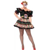 Day of the Dead Doll Adult Plus Costume