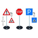 Large Traffic Street Signs for Play/Education on Road Safety
