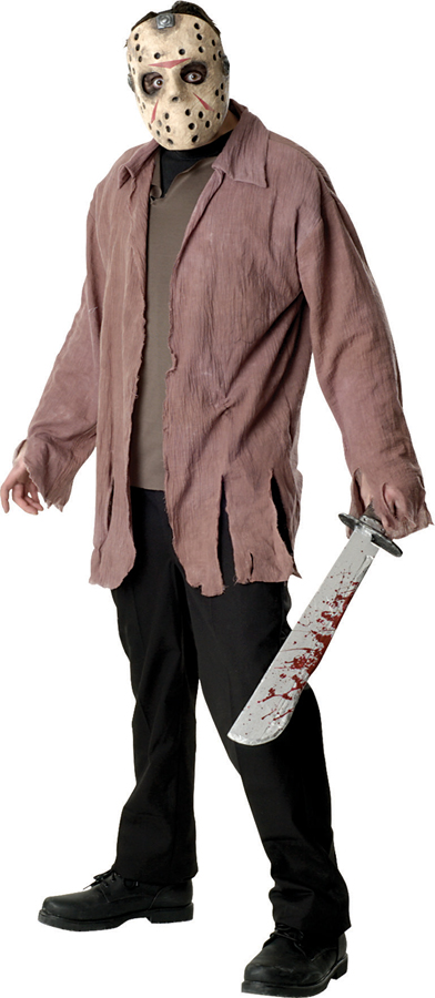 friday the 13th jason scary horror adult men fancy dress halloween costume party