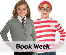Book Week costumes and accessories.