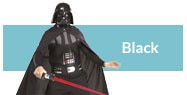 Black costumes and accessories