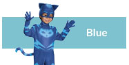 Blue costumes and accessories