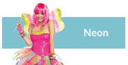 Neon costumes and accessories