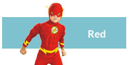 Red costumes and accessories
