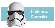 Star Wars masks and helmets
