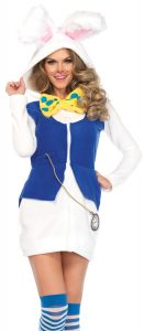 Rabbit White Cozy Adult Costume