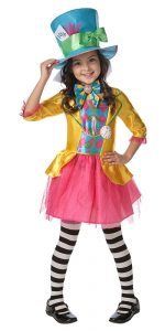 Mad Hatter Girls Child Costume