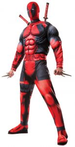 Deadpool Muscle Deluxe Licensed Adult Costume