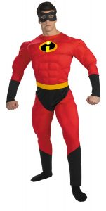 Disney Mr. Incredible Muscle Adult Costume XL