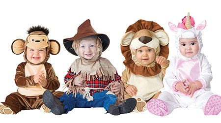 Book Week costumes for babies